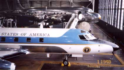 January 2003 US Air Force Museum Presidential Hanger.  Photo by Ken Gallagher